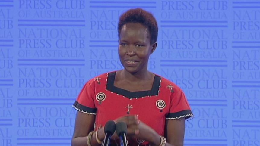 National Press Club: Dr Kakenya Ntaiya