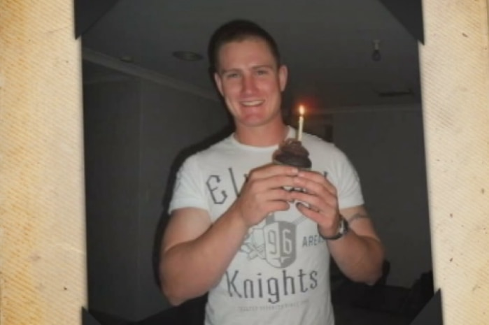 Jake Casey, who committed suicide while based at HMAS Stirling.