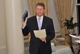 Denis Napthine is sworn in as Premier of Victoria