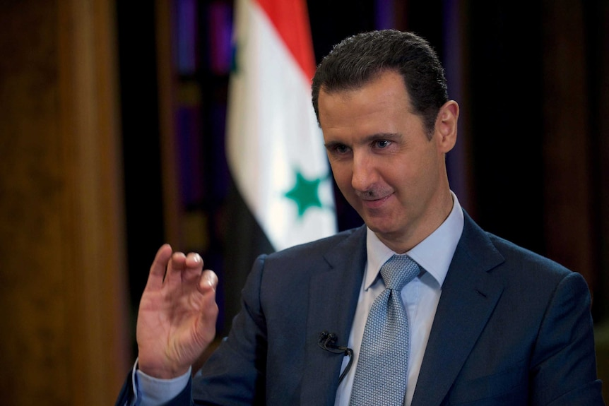 Bashar al-Assad gives BBC interview