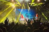 An Australian festival crowd