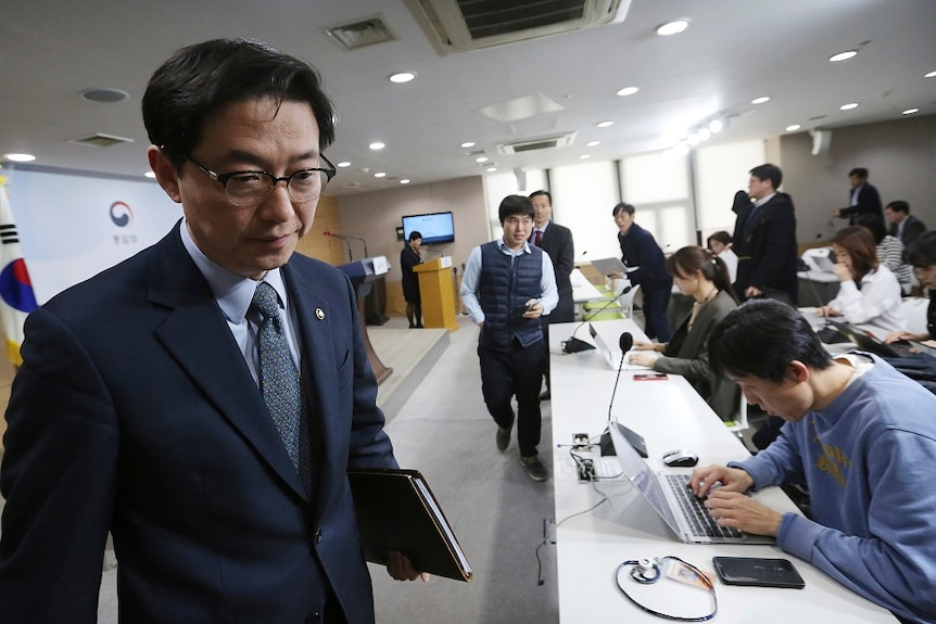 South Korean Vice Unification Minister Chun Hae-sung said the South plans to continue to staff the liaison office normally.