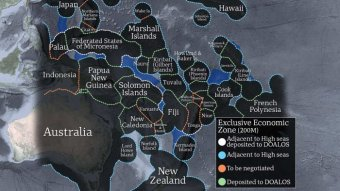 The Pacific's boundary problem