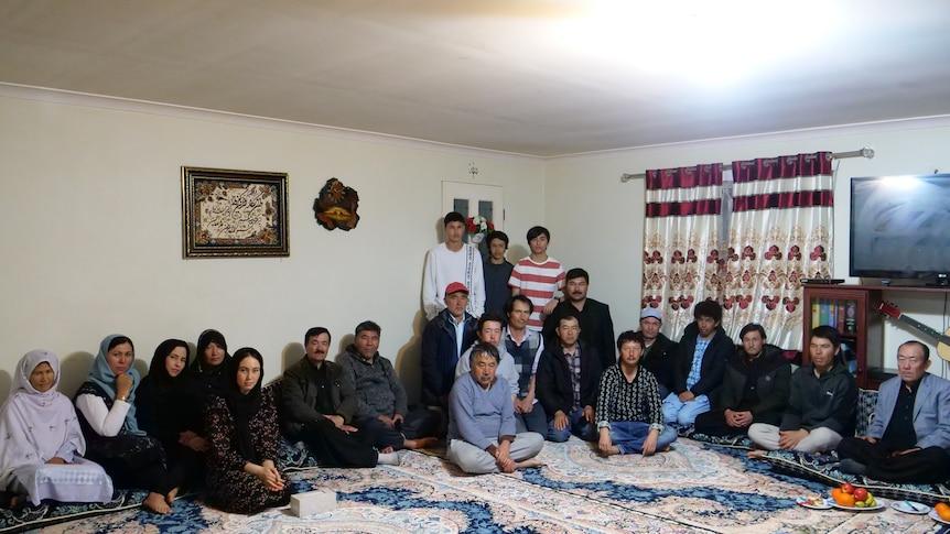 22 Mt Barker Hazara community members sitting in a room