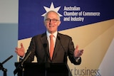 Prime Minister Malcolm Turnbull speaking at an ACCI function on Wednesday 19 April 2017.