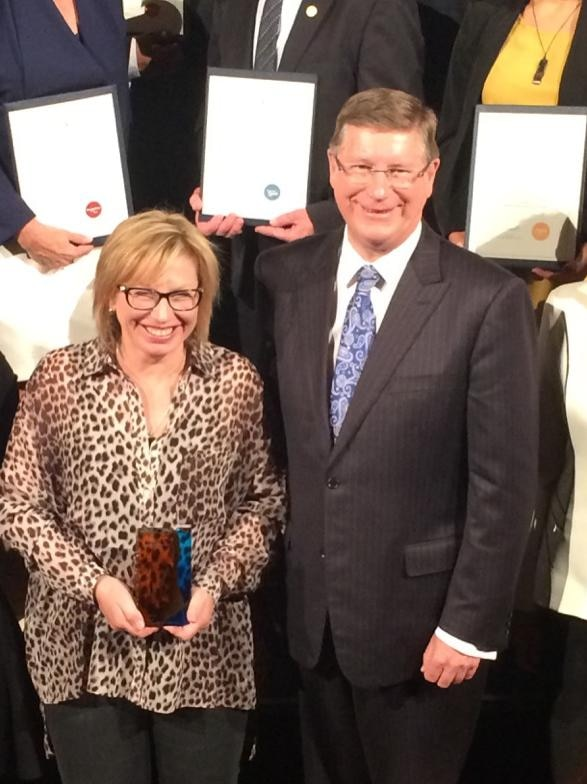 Family violence campaigner Rosie Batty has been honoured with the Victorian Australian of the Year award.