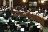General view of the UK Supreme Court hearing the Brexit case.