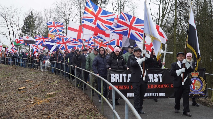 Britain First regularly struggles to get more than 150 at public events