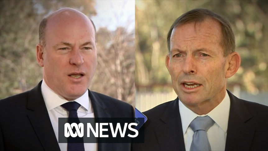 Tony Abbott and Trent Zimmerman on same-sex marriage