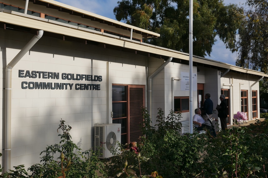 The exterior of the Eastern Goldfields Community Centre.