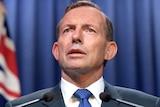 Tony Abbott makes national security address