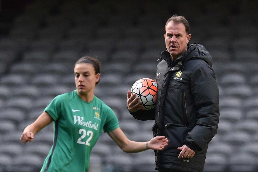 Alen Stajcic Matildas coach