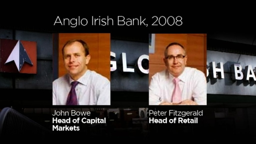 Outrage over Irish bankers caught gloating on tape