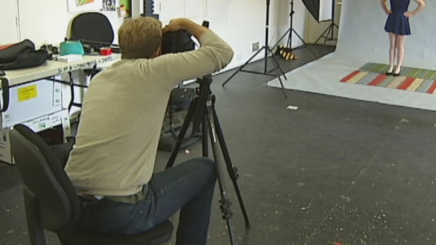 As part of his residency, photographer Sean Davey is inviting the public into the studio space.