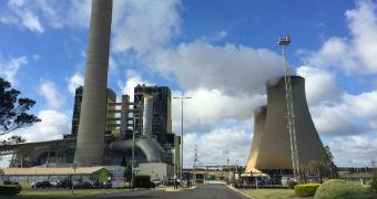 Victorian power station.