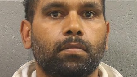 Police are searching for Danny Ferguson, 35, after the death of a woman at Oodnadatta on Friday.