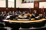Tasmania's Lower House  in session.