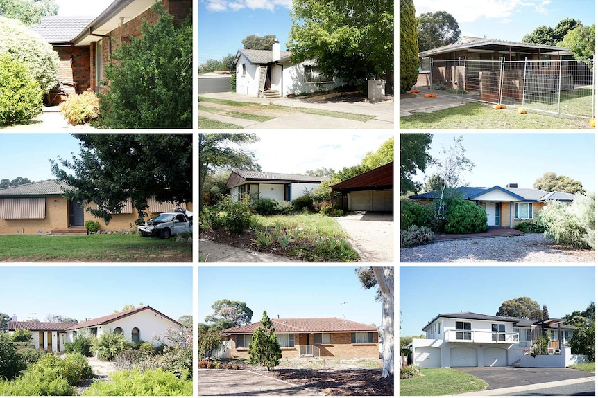 Collection of Mr Fluffy homes in Kambah