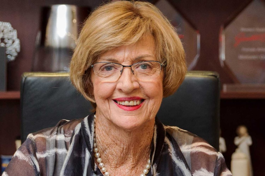 Margaret Court, former tennis player and pastor of the Victory Life Centre, 2016