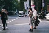 Women on street in Sydney