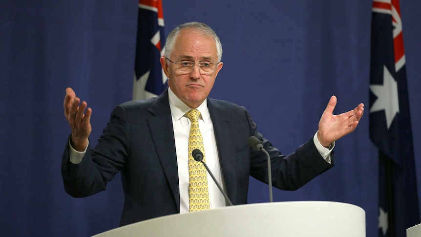 Malcolm Turnbull says the review of the climate policy is a longstanding part of Coalition policy.