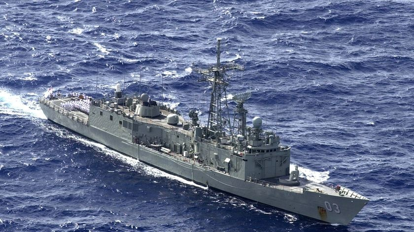 Navy insider has told the ABC sailors have been stashing drugs onboard vessels - file photo.