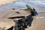 Amazon shipwreck at Inverloch beach
