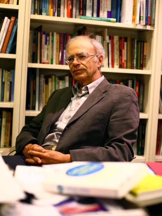 Australian bioethicist and philosopher Peter Singer