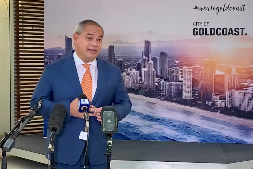 Gold Coast Mayor Tom Tate's remarks have prompted calls for leaders to be more careful with their choice of words