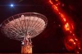 CSIRO Parkes Radio Telescope composite