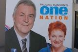 One Nation WA candidate David Miller and Pauline Hanson