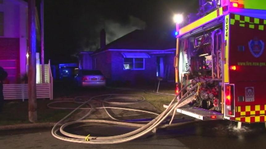 Suspicious house fire in Peakhurst.