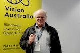 Bruce Maguire, Vision Australia's lead policy adviser