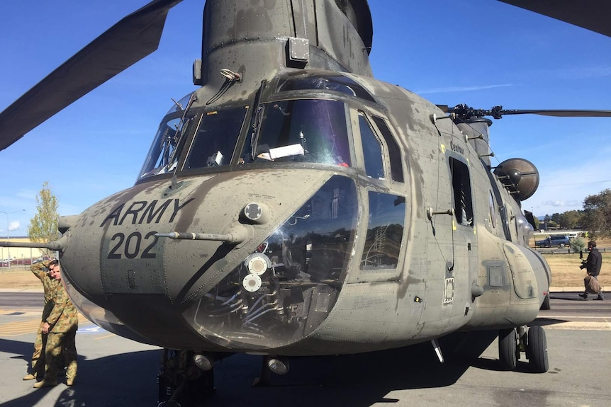 Chinook A15-202 deployed to Afghanistan four times