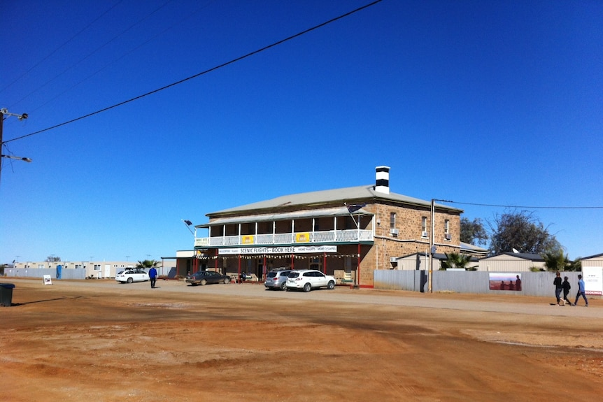 a pub in the outback