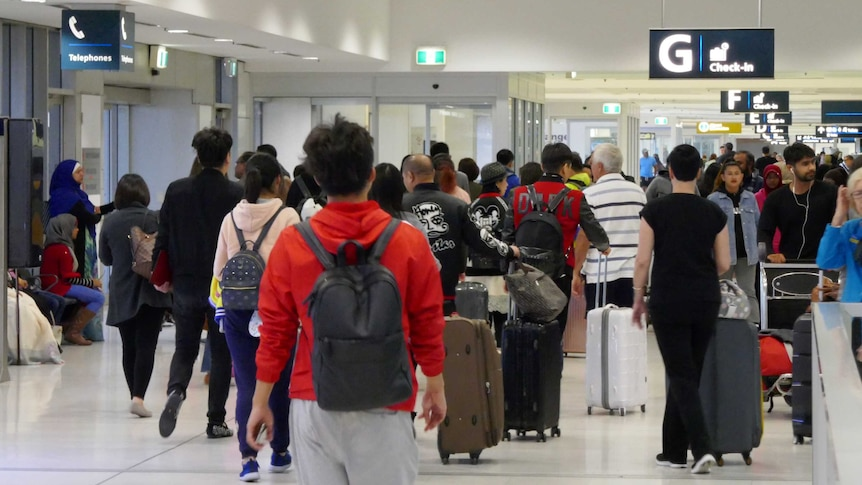 Airports are crowded this morning as delays and chaos ensues amid heightened security