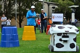Cow robot car that won driverless car competition