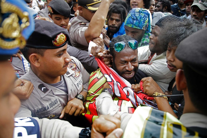 West Papuan protesters