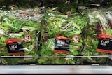 Prepackaged lettuce has been recalled after it was linked to a salmonella outbreak.