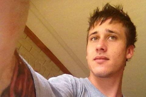 Angus Auton, who NT Police accused of the hit and run death of a pedestrian on New Year's Eve.