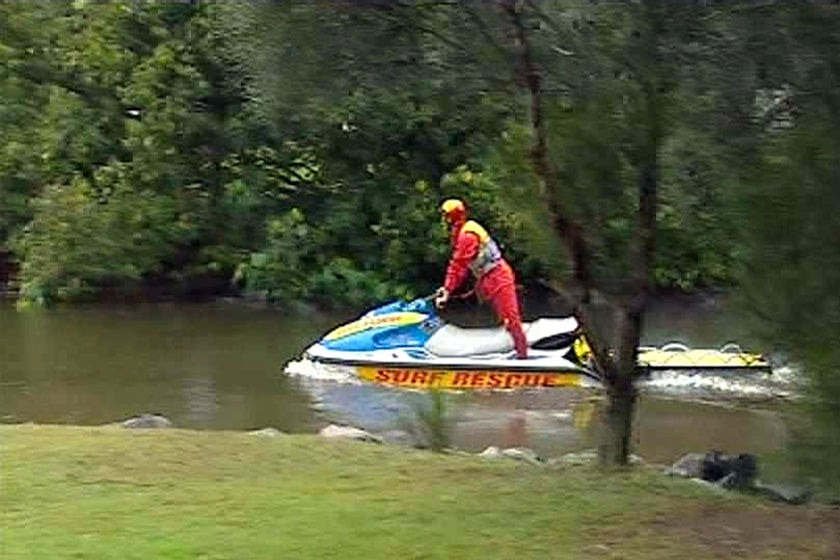 Rescuers have been searching the waterway since Friday.