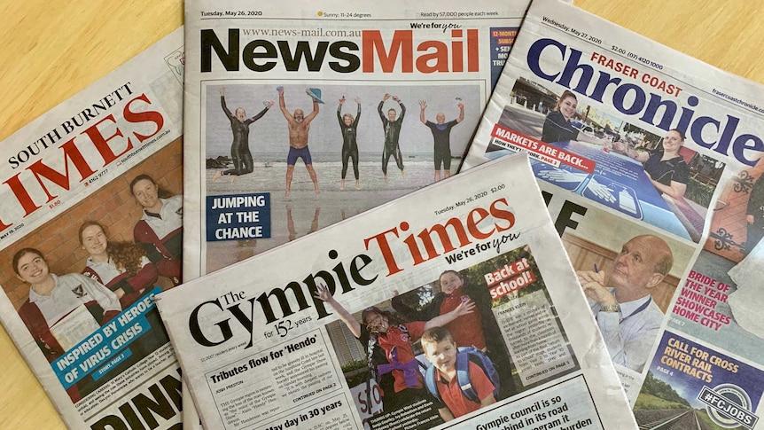 Queensland regional newspapers