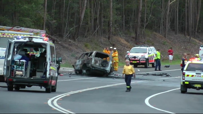 Jessica Falkholt, who appeared in the TV series Home and Away, was critically injured in a Boxing Day crash
