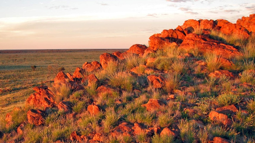 Red rocks in Central Australia