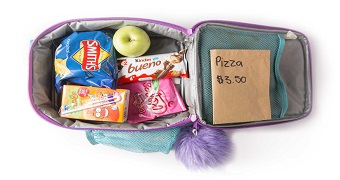Inside kids' lunch boxes