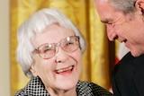 Harper Lee with George W Bush