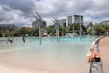 A generic shot of the Cairns Esplanade lagoon