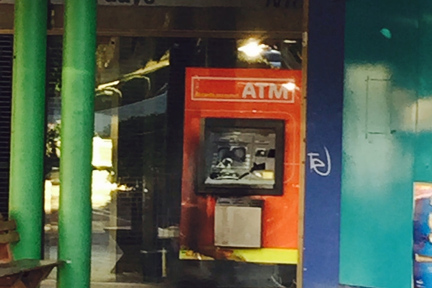 ATMs targeted