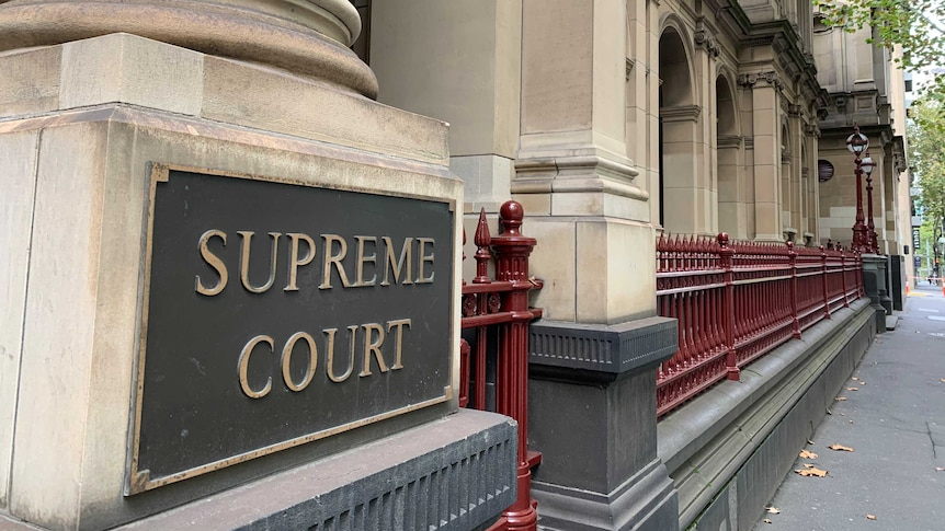 The exterior of the Supreme Court of Victoria.