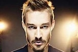 Chris Joannou (right) with Silverchair band mates, Ben Gillies and Daniel Johns.